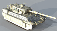3d 3ds upgrade panther tank