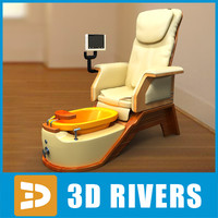 Pedicure chair by 3DRivers
