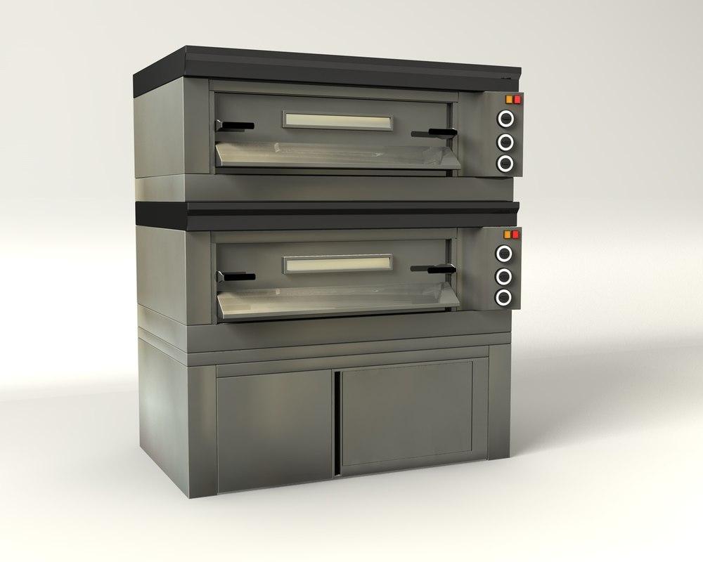 oven pizza 3d model