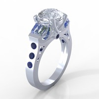 3d royal ring