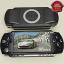 Sony PSP 3D models