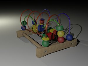 3d model wooden toy