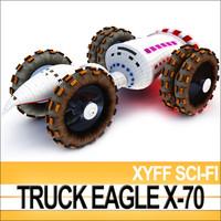 Xyff Sci-Fi Truck Terran Eagle X-70