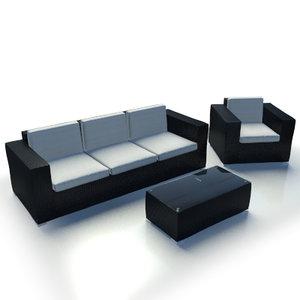 3d azorerna furniture model