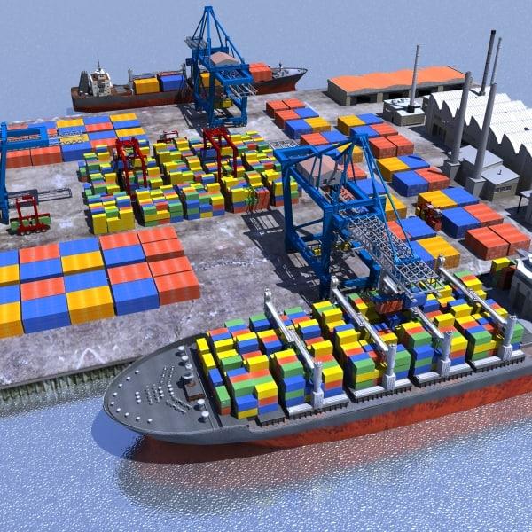3ds cargo dockyard