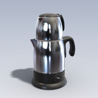 3dsmax photo realistic kettle