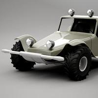 3dsmax dune buggy