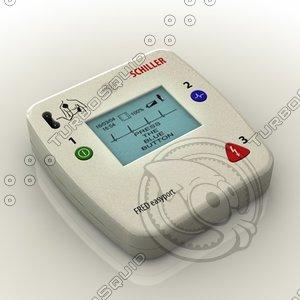 3d portable defibrillator