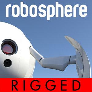 maya sphere robosphere