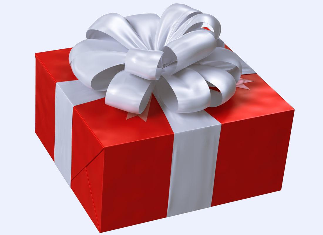 gift box iii 3d max