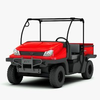 3d model kubota rtv 500