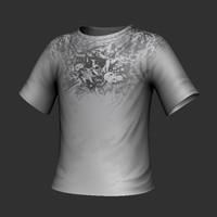 3d model shirt design