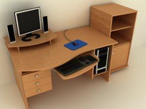 table pc 3d model