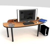 PC Office Desk 02