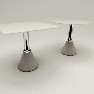 table design 3d c4d