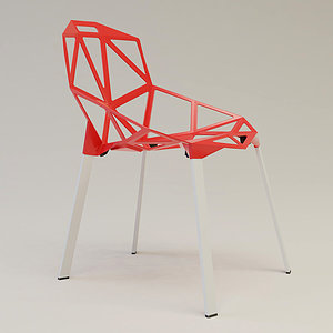 3ds konstantin stacking chair