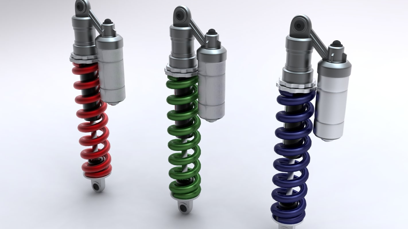 shock absorber obj