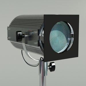 3d spot light