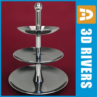 3d sweets dish model