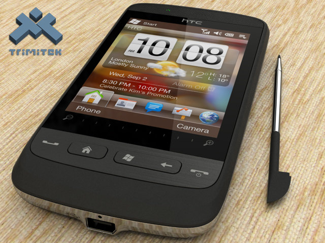htc touch2 2 3d max