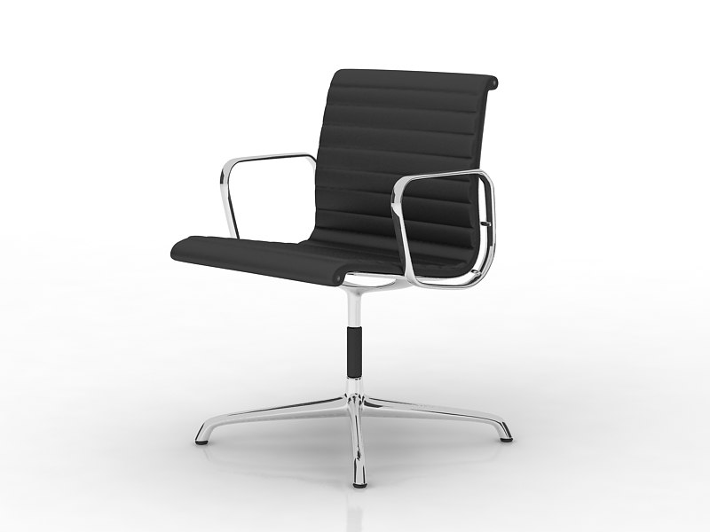 vitra office chair 3ds