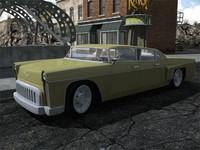 3d model of prewar car