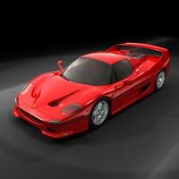 3d max italian sport car