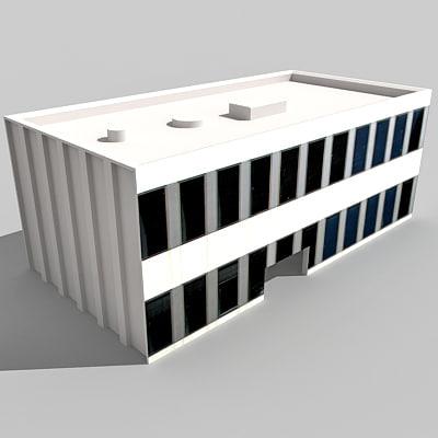 3d model of building
