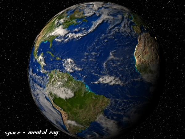 maya earth planet plastic
