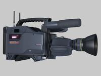 3d sony betacam camera model