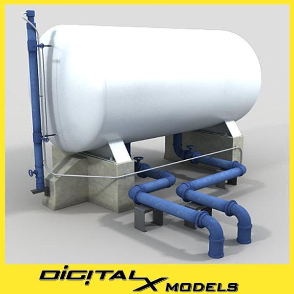 3d industrial equipment 3