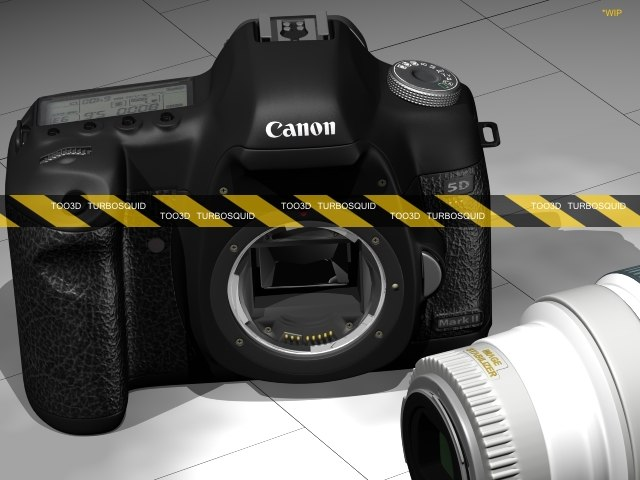 3d kit canon 5d mkii