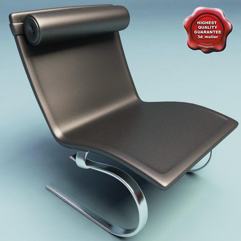 armchair v6 3d model