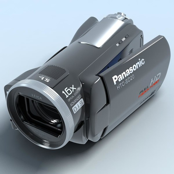 camcorder panasonic hdc-sd20 hd 3d model