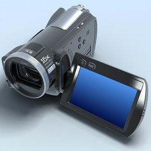 3d camcorder panasonic hdc-sd20 hd