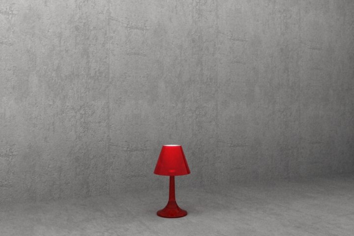 3ds max flos miss k table lamp
