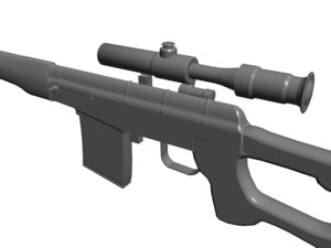 rifle sights 3d 3ds