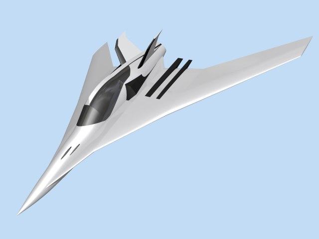 experimental aircraft 3d 3ds