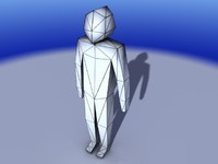 3ds max character