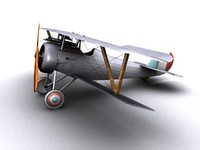 Nieuport 24 WW1 Biplane fighter