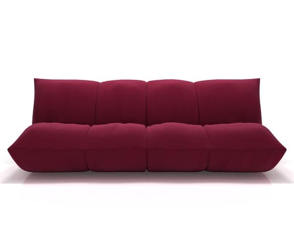 3d sofa giovannetti papillon model