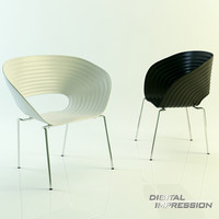place chair 3d model
