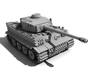 3ds max tiger 1 tank
