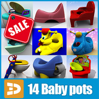 Baby pots collection by 3DRivers