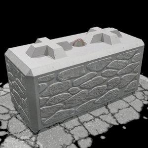 maya barrier block
