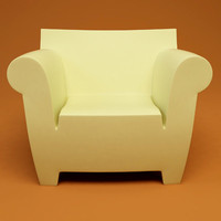 bubble club chair 3d 3ds