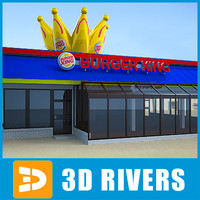 Burger king by 3DRivers