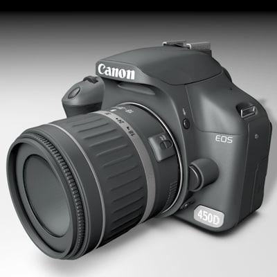 canon 450d c4d