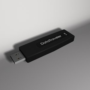 kingstone datatraveler 8 gb 3d max