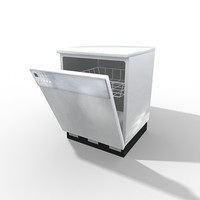 3ds max dish washer